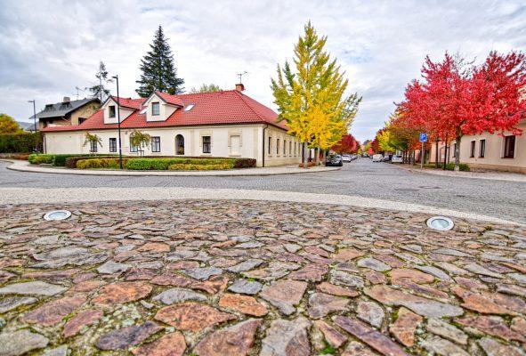 Dobřichovice - colorováno podzimem 2020   foto: Patricie Krmelová