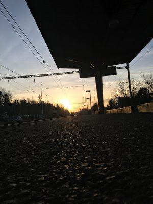Sluneční nádraží | foto: Lucie Pokorná