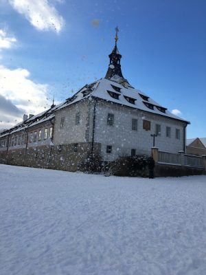 Sněhový zámek | foto: Lucie Pokorná