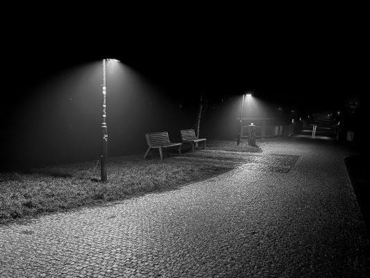 Večer cestou domůj   foto: Jan Bárta