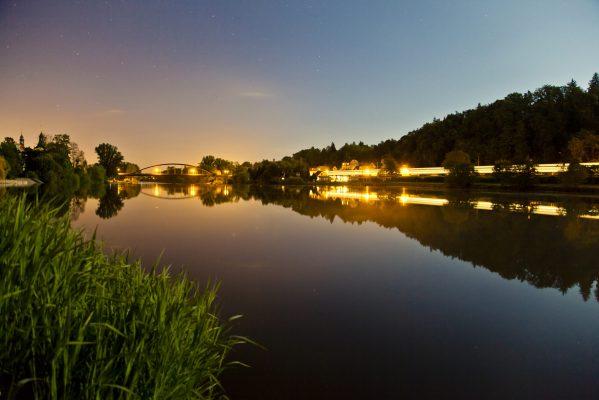 Noční klid za úplňku   foto: Tomáš Hejlek