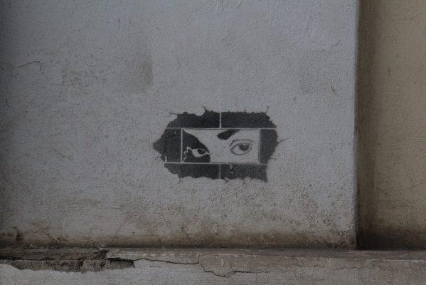 někdo se vždy dívá | foto: Anna Kozmová