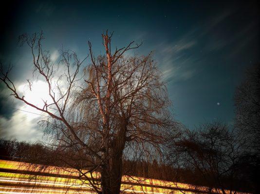 Nekonečnost vesmíru protnuta lidskou pomíjivostí | foto: Daniel David