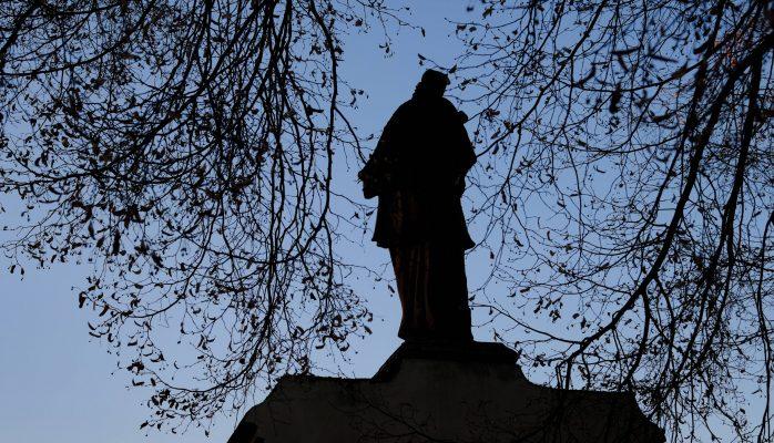 Socha Sv. J. Nepomuckého | foto: Oldřich Matoušek
